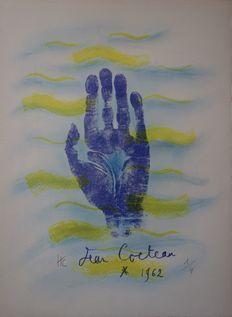 Jean Cocteau - Hand print