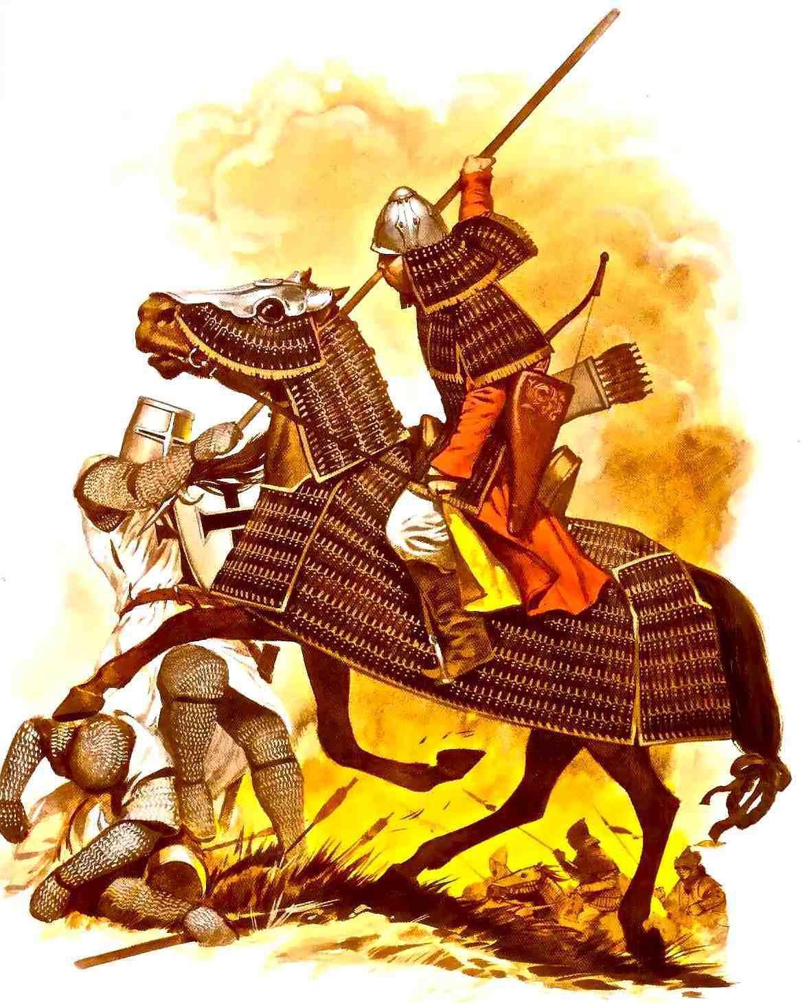 Картинки монгольские войска, изображением лисы для