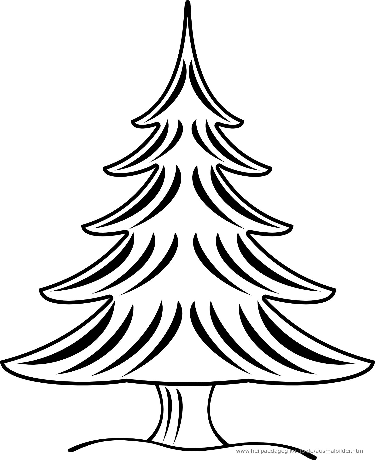 Ausmalbilder Weihnachten Tannenbaum Vorlage Eingebung Weihnachten Zeichnung