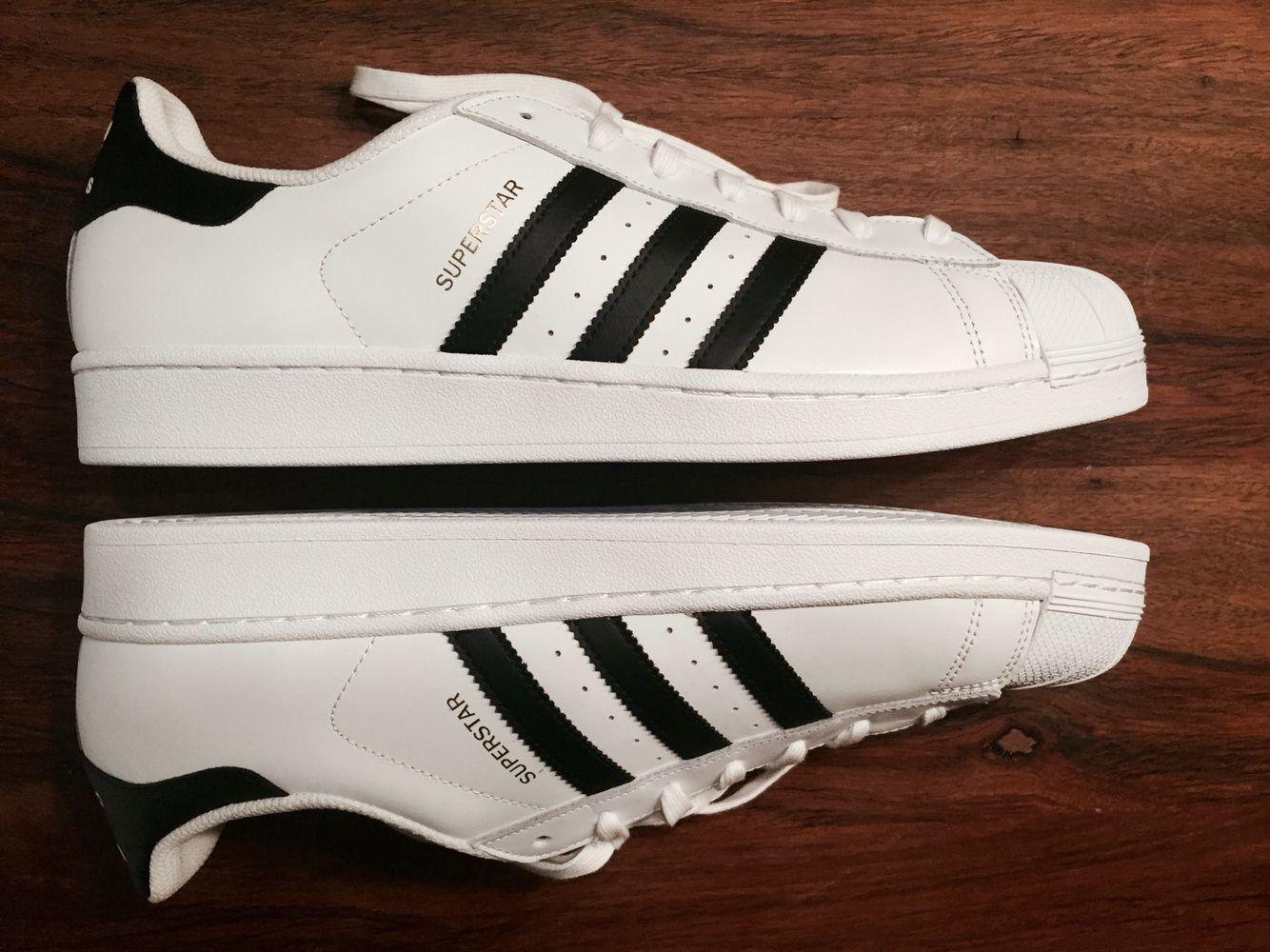 Adidas #Superstar white and black #yeah #oldschool