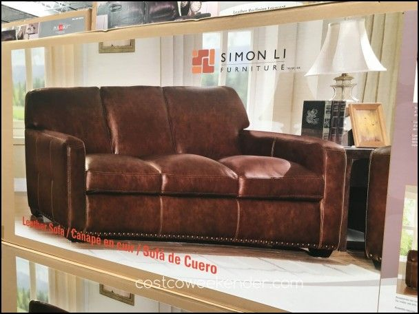 Simon Li Leather Sofa Costco Couch Sofa Gallery Pinterest Rh Uk Pinterest  Com