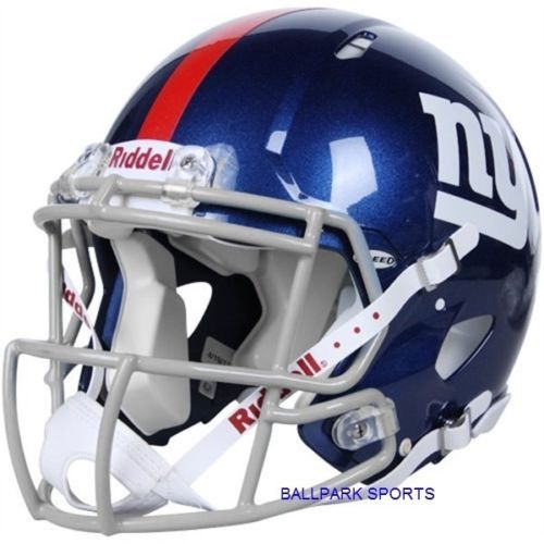 new concept 49986 9db23 New York Giants Riddell Speed Authentic Helmet | eBay | xmas ...