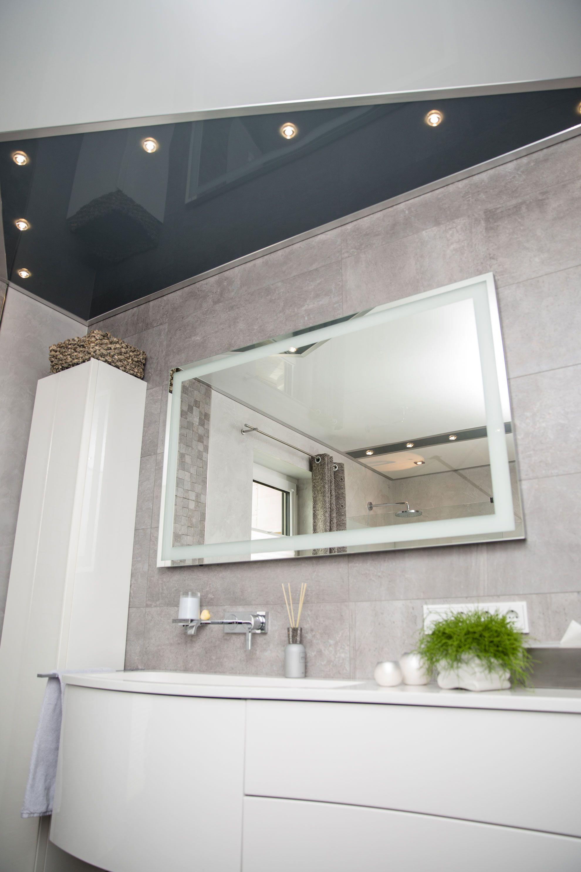 Badezimmer Decke mit Beleuchtung Inspiration badezimmer