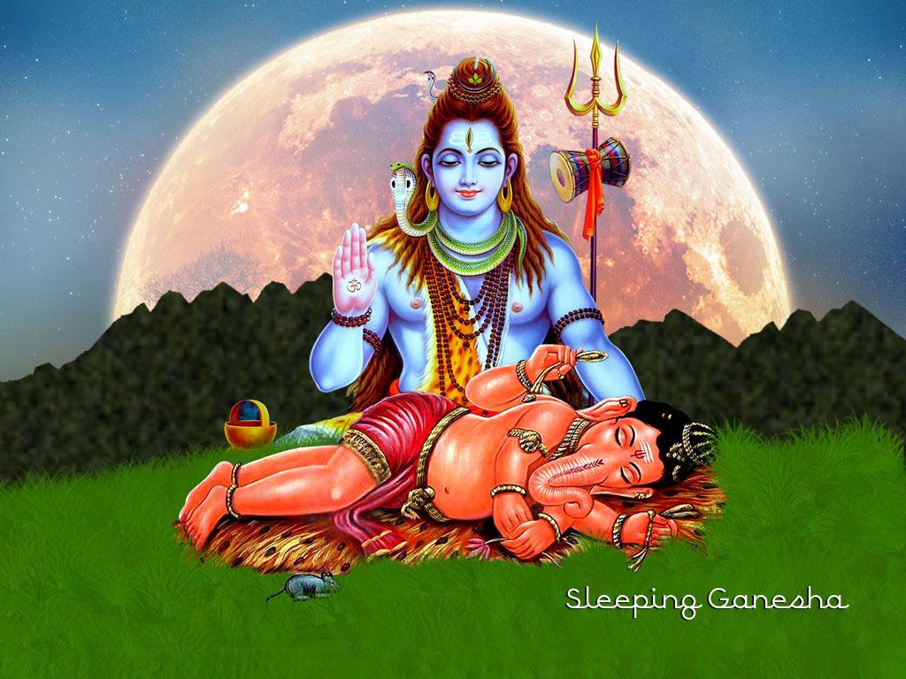 Wallpaper download ganesh - Free Sleeping Ganesha Wallpaper Download