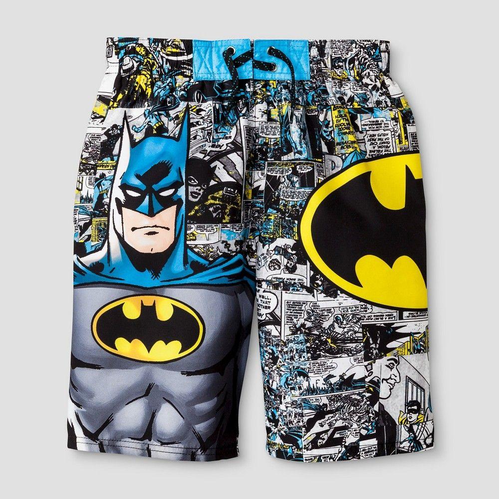 e99daf8128 Batman Boys' Swim Trunks Yellow - XS, Boy's | Products | Boys swim ...