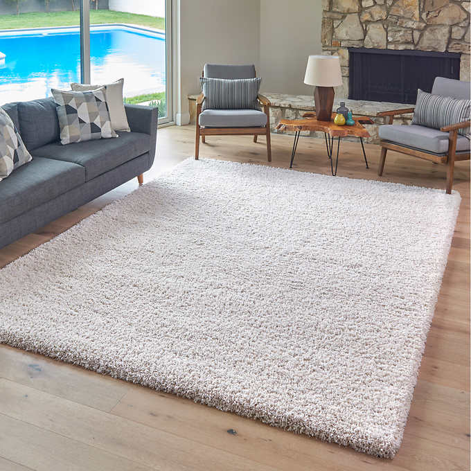 Thomasville Marketplace Luxury Shag Rugs Rugs In Living Room