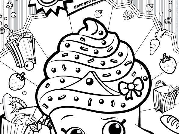 20 Shopkins Party Craft Ideas And Shopkins Coloring Pages