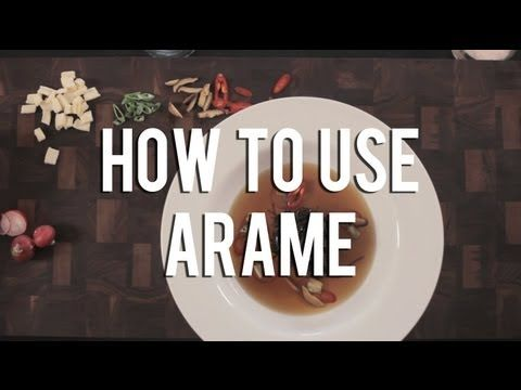 How to use arame in your raw food recipes youtube moody foody how to use arame in your raw food recipes youtube forumfinder Choice Image