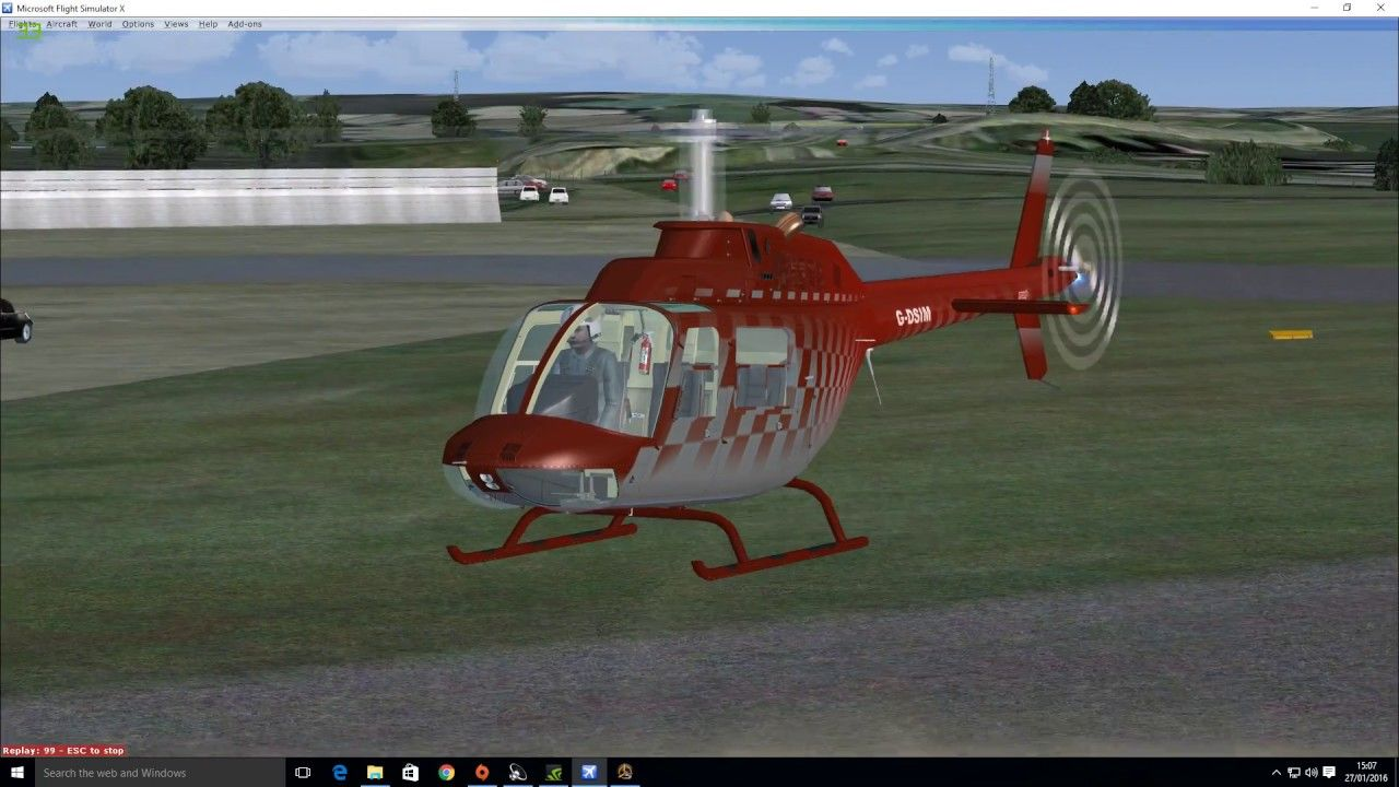 Dodosim Bell 206 , in our opinion the best helicopter for