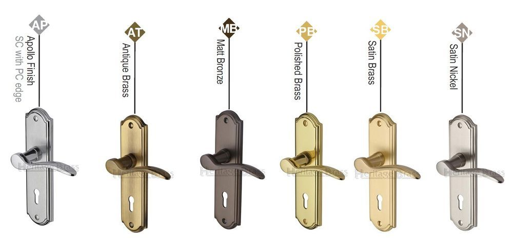 Pin On Door Lever Handle