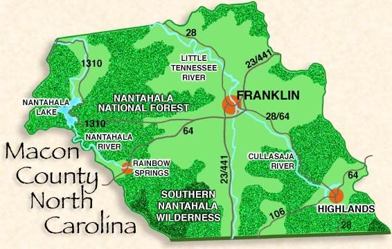 Macon County Nc P H Project North Carolina Western North