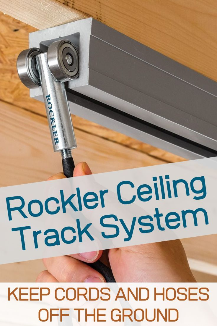 Photo of Non-Locking Trolleys for Rockler Ceiling Track System