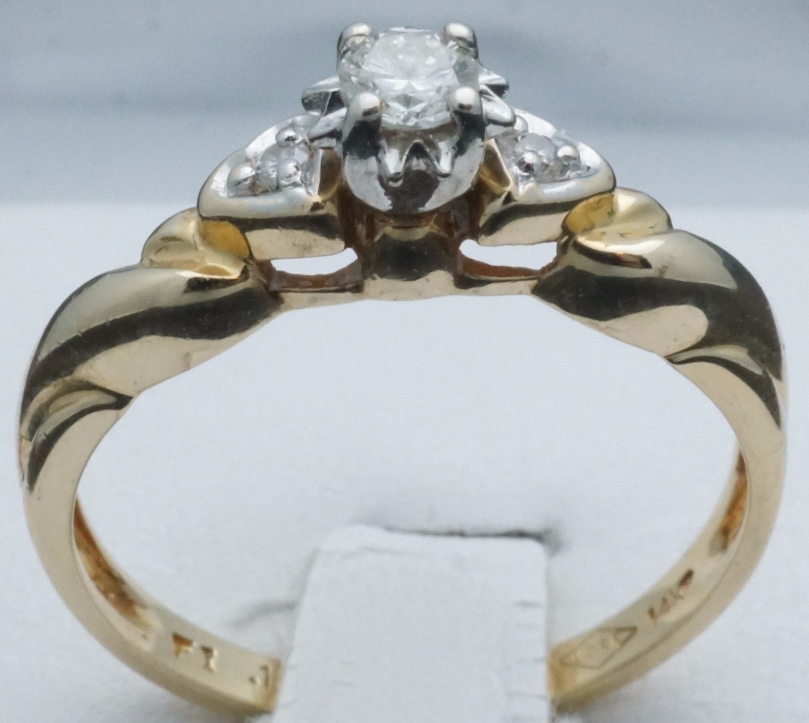 Jewelry 14k 4 Diamond Total 1 Karet Wt please retweet Misc For