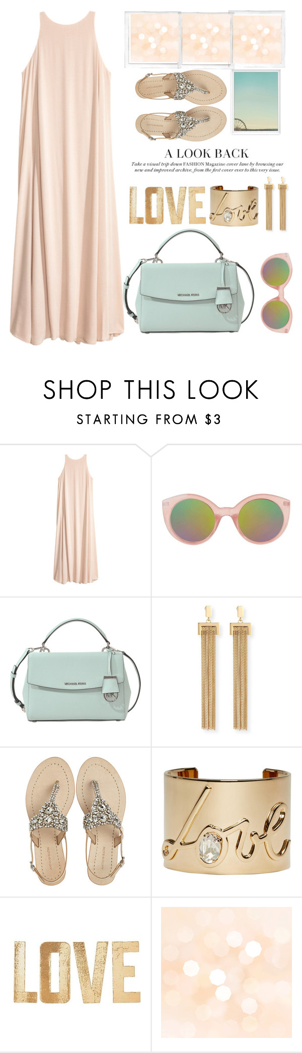 """""""love color pastel """" by licethfashion ❤ liked on Polyvore featuring Topshop, MICHAEL Michael Kors, Chloé, Antik Batik, Lanvin, PBteen and Polaroid"""