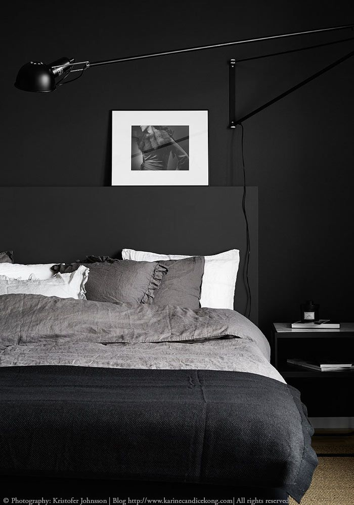 4 Dark Bedrooms To Be Inspired By Modernes Schlafzimmer, Gemütliches  Schlafzimmer, Schlafzimmer Inspiration,