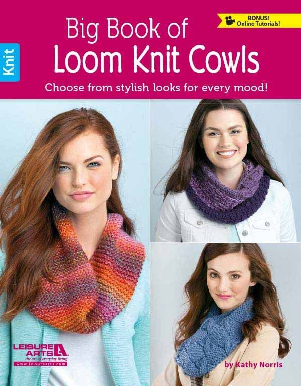 Big Book Of Loom Knit Cowls Knit Cowl Big And Yarns