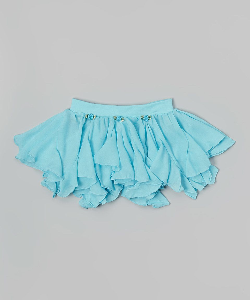 Look what I found on #zulily! Basic Moves Turquoise Skirt - Girls by Basic Moves #zulilyfinds