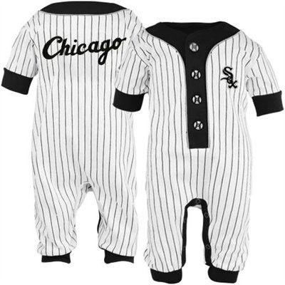 시카고 화이트 삭스 유아용 유니폼.. 우리도 이런거 만들어 줘! 내시키인데 입히고 싶다. 어이구 이쁜 내시키~ 가 없네