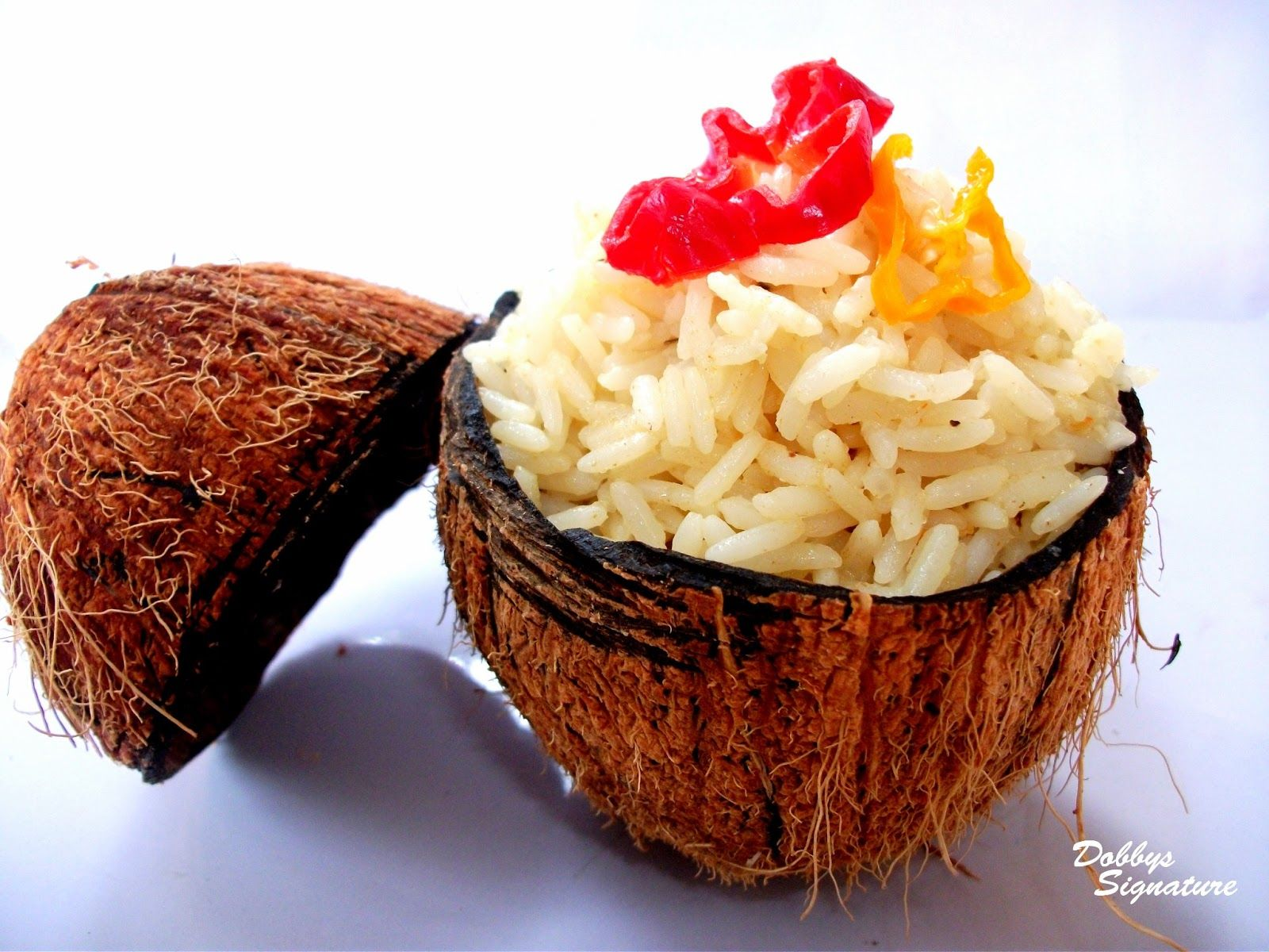 Classic coconut rice nigerian food africans and food for Unique meals