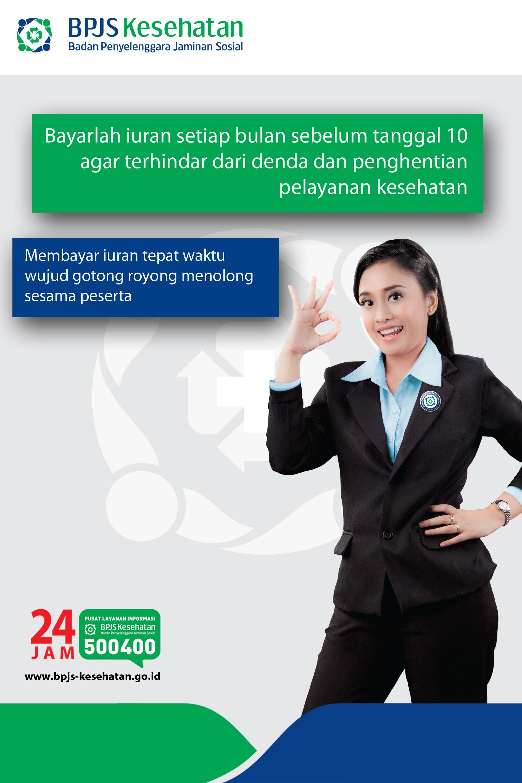 Poster Iuran Bpjs Kesehatan Jaminan Sosial