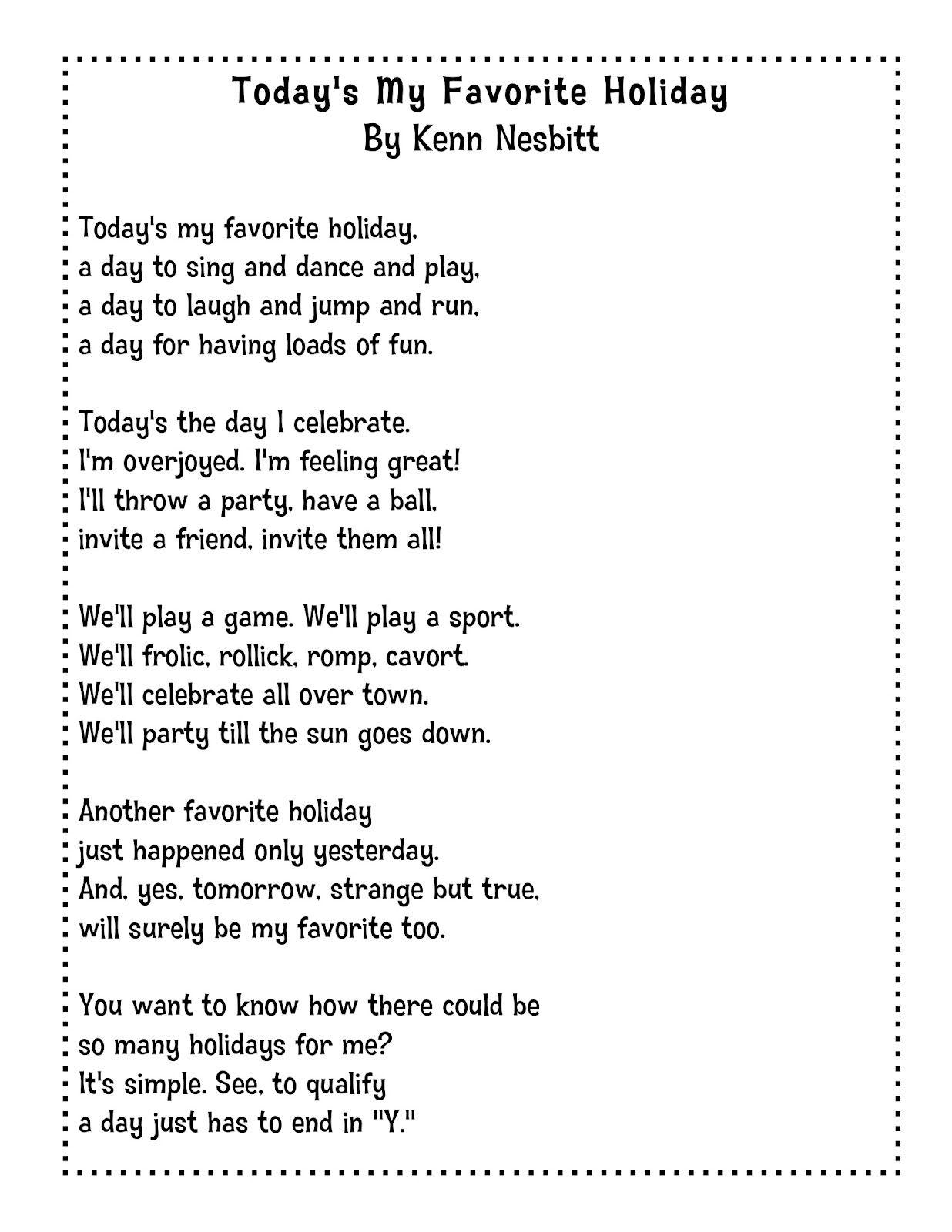 Kenn Nesbitt Poems 3