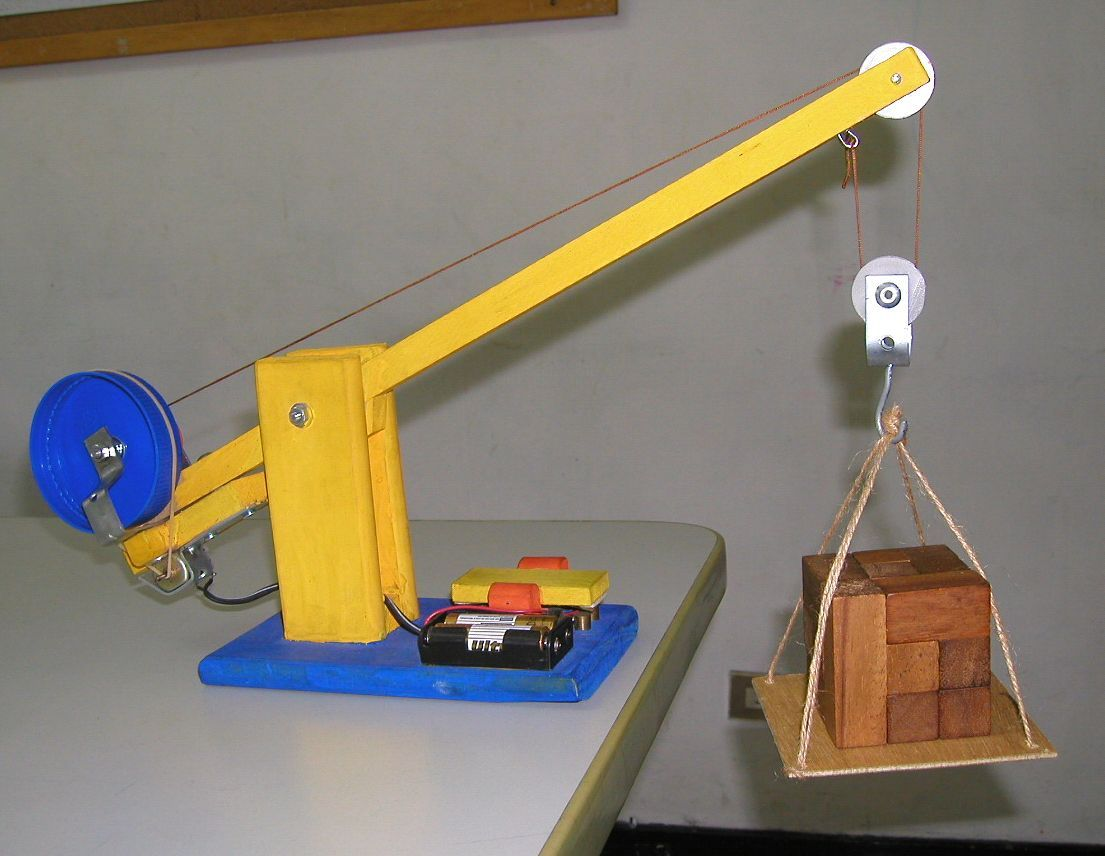 Diy Wood Model Crane Wooden Pdf Plans For Wooden Toy Box