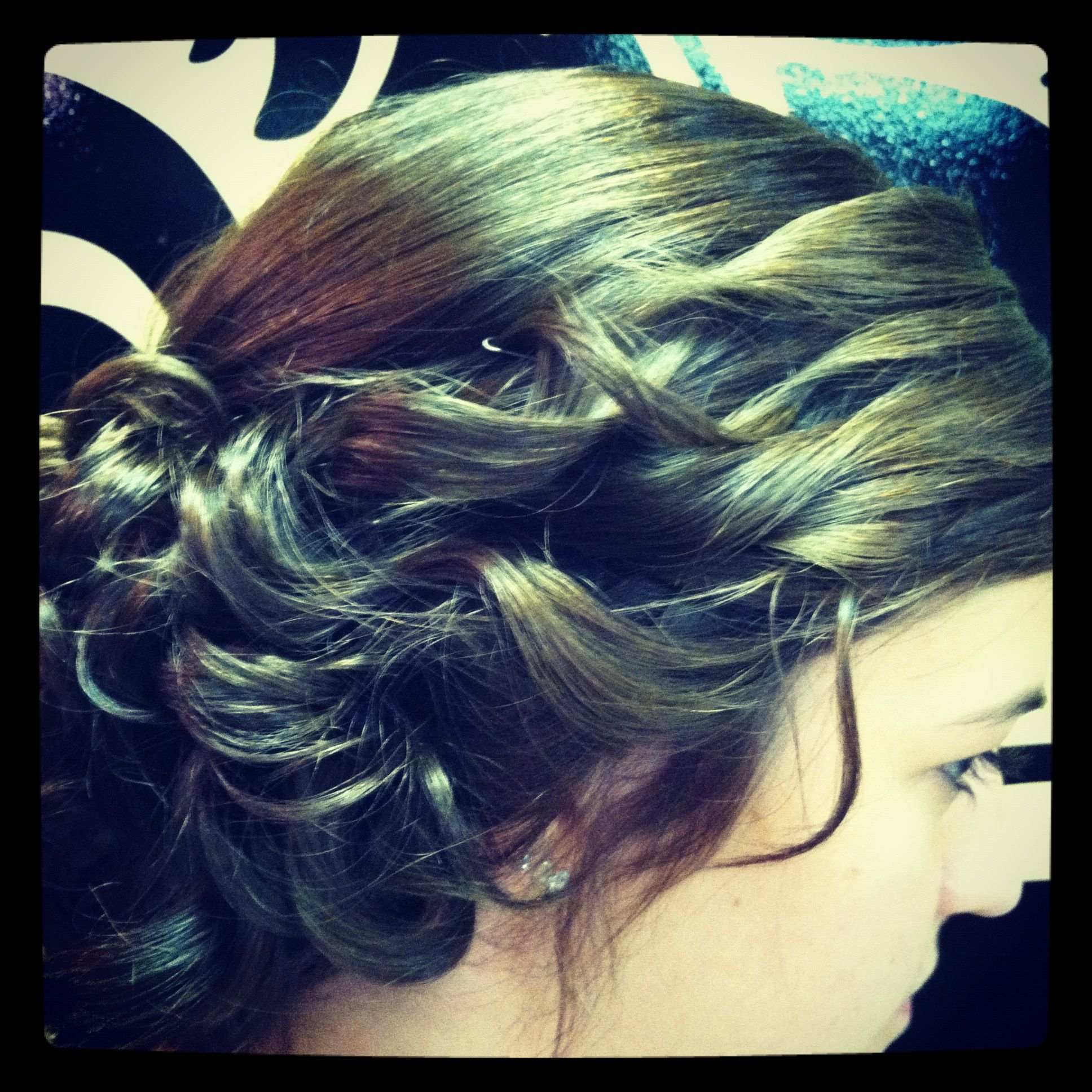 Homecoming hair pinterest homecoming