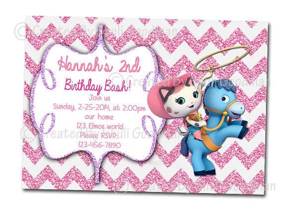 Sheriff Callie Birthday Invitations printable DIY digital file