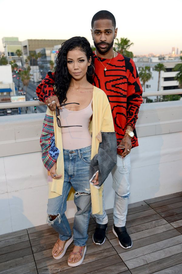 Jhene Aiko and Big Sean  - Celebrity Photos of The Week: Apr 30 - May 6