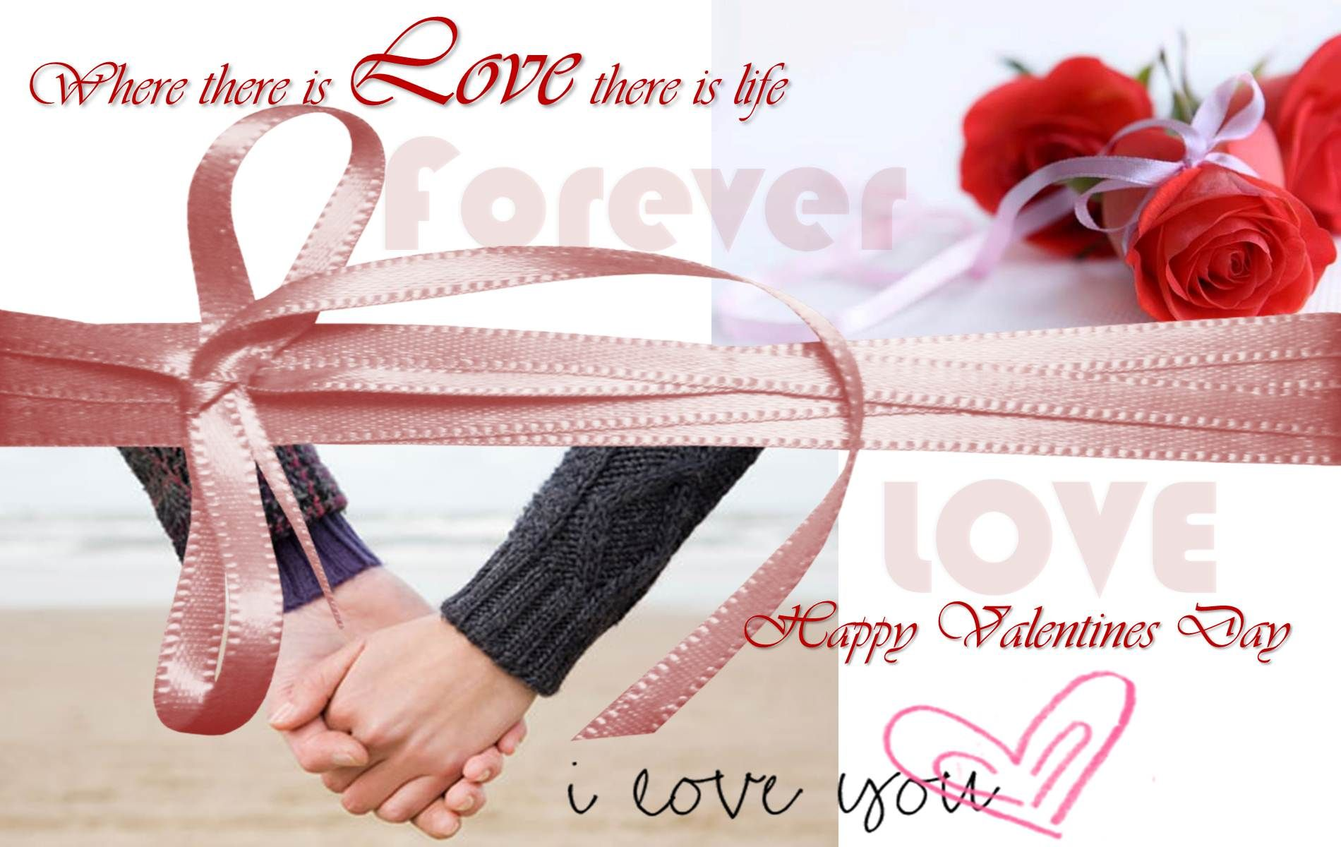 Happy valentines day quotes wallpapers high definition happy valentines day quotes wallpapers kristyandbryce Image collections