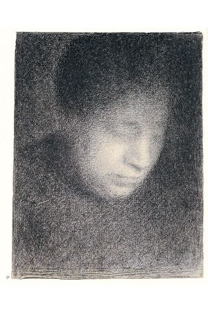Georges Seurat Drawings Drawing Basics The Emergence Of Tonal