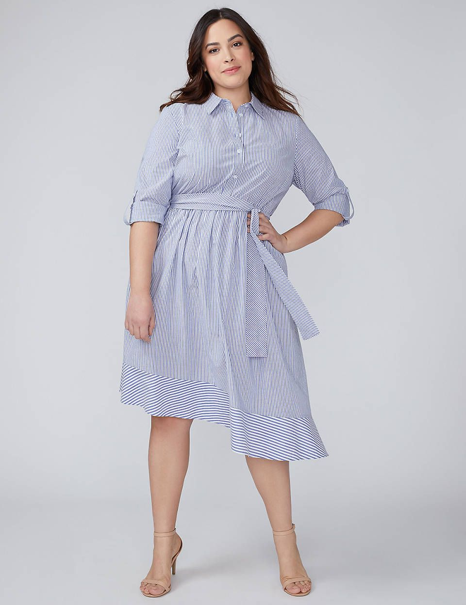 White Plus Size Dresses Lane Bryant