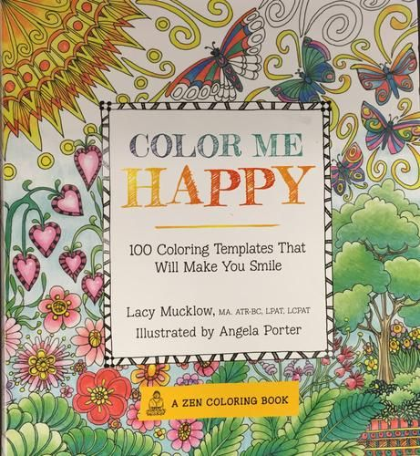 Color Me Happy 100 Coloring Templates That Will Make You Smile