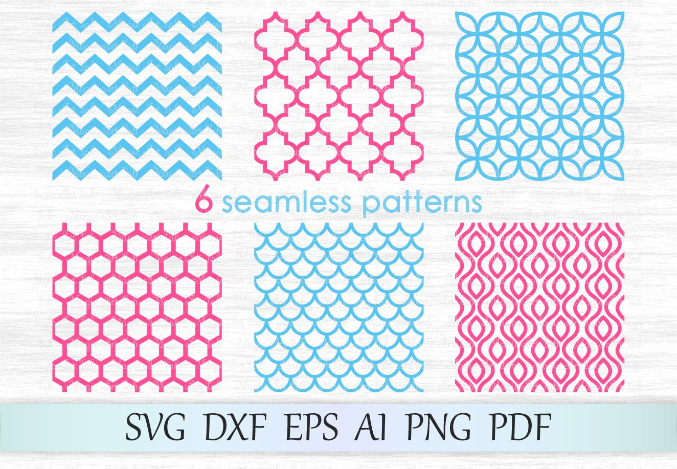 Seamless patterns svg, Mermaid scale pattern svg, Patterns