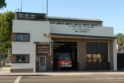 LACoFD Station 8 - West Hollywood, CA | Randolph Mantooth squad 51
