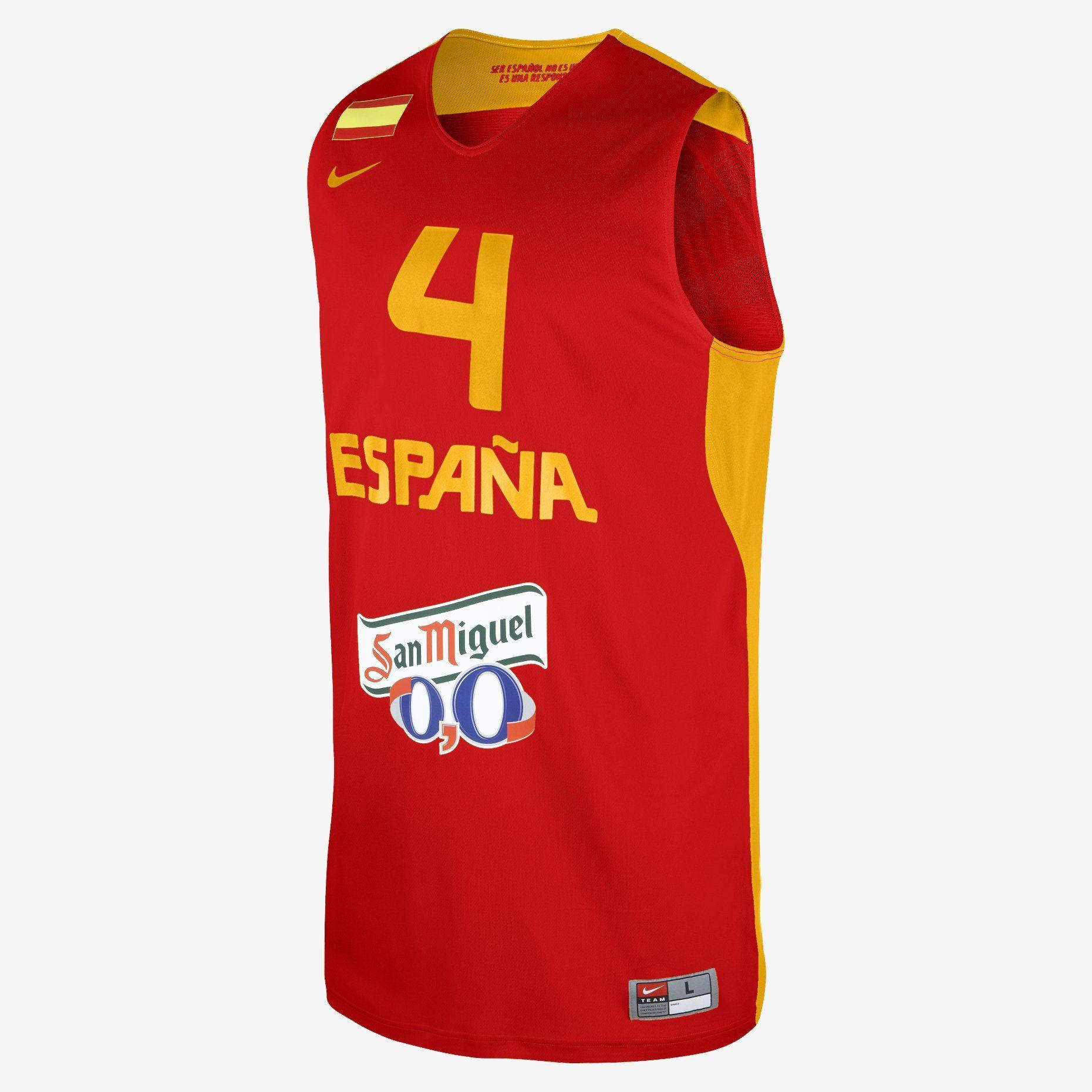 cualquier cosa Cooperación Illinois  Nike Store España. Nike Federation Replica (Spain) Camiseta de baloncesto -  Hombre | Sport outfits, Tops, Apparel
