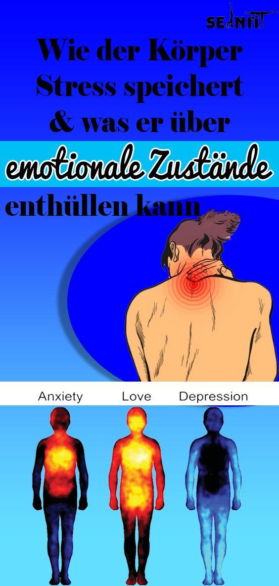 Wie der Körper Stress speichert und was er über emotionale Zustände enthüllen kann