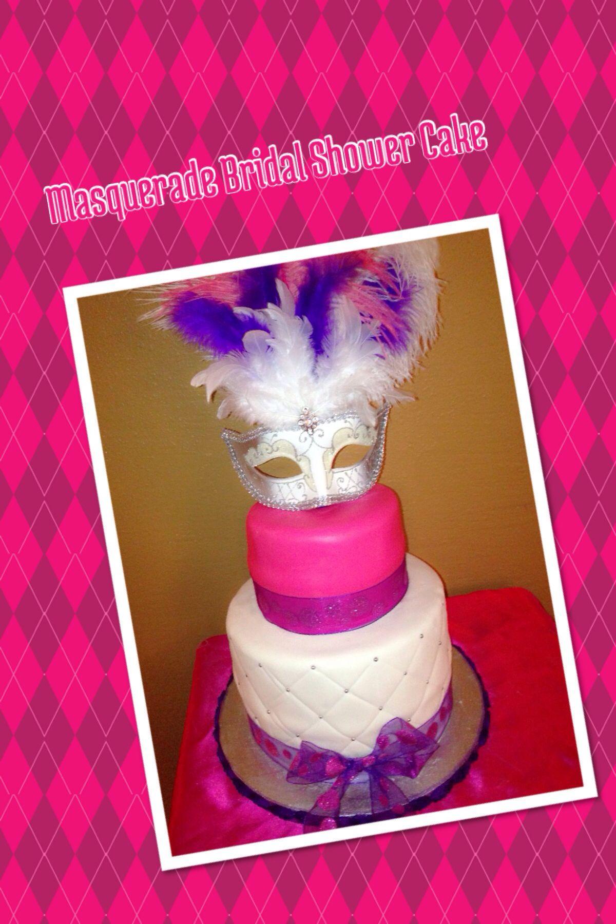 masquerade bridal shower cake bridal shower pinterest bridal shower cakes shower cakes and cake jpg 1200x1800
