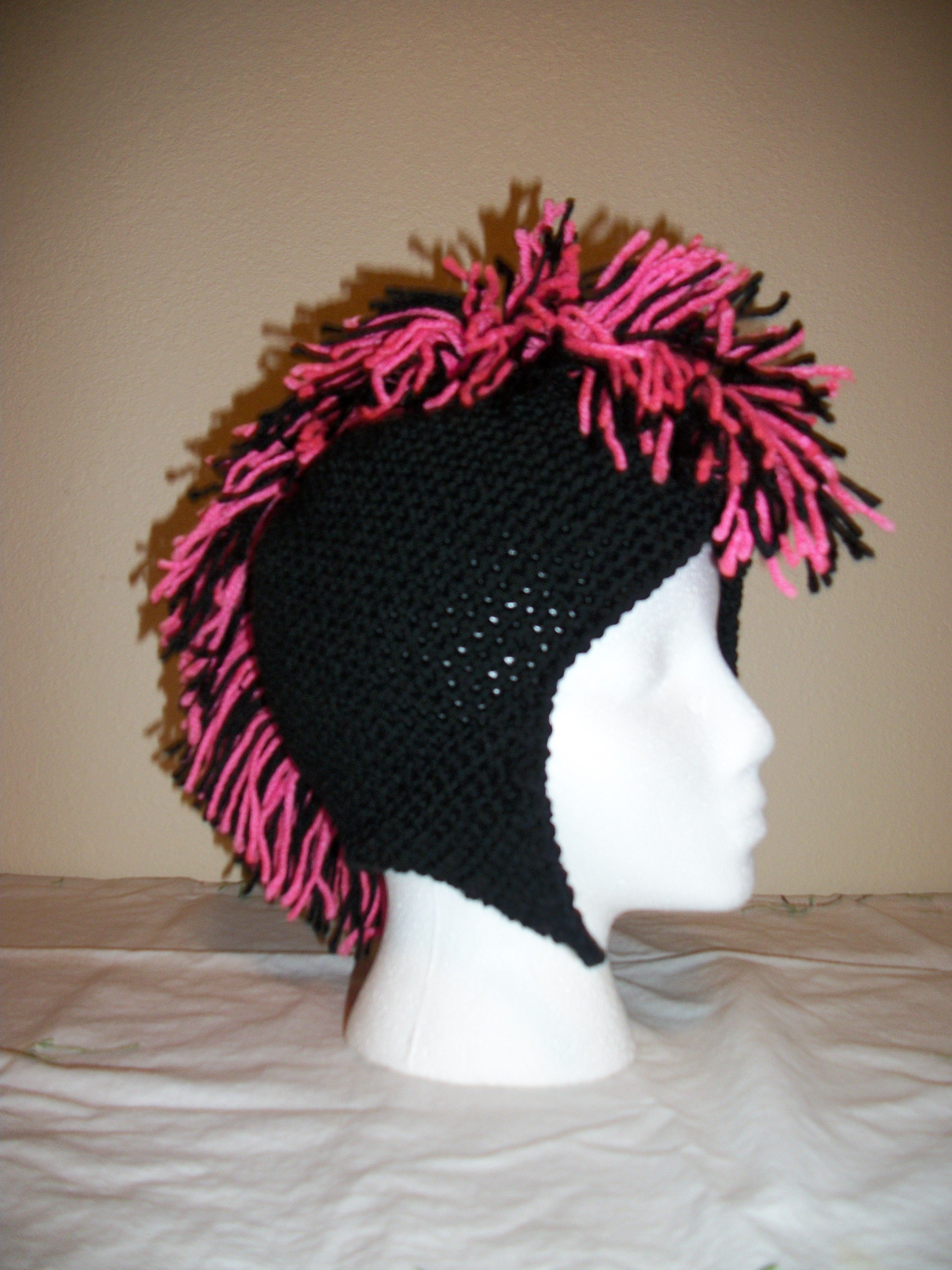 Crochet mohawk hat crochet pinterest mohawks and crochet