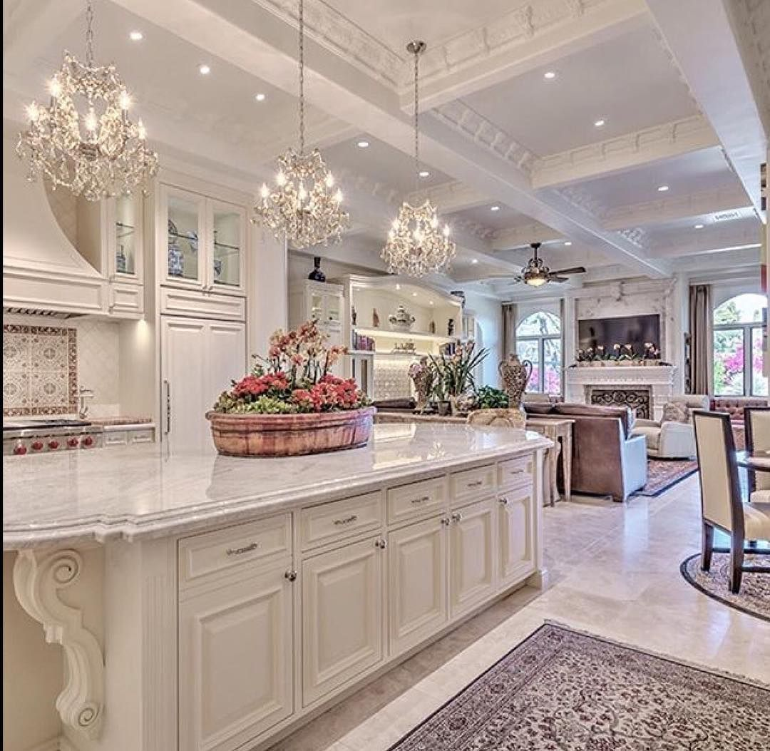 Fitted Kitchen Interior Designs Ideas Kitchen Cabinet: Open Concept Living Via @spackle_and_sparkle ️ Get