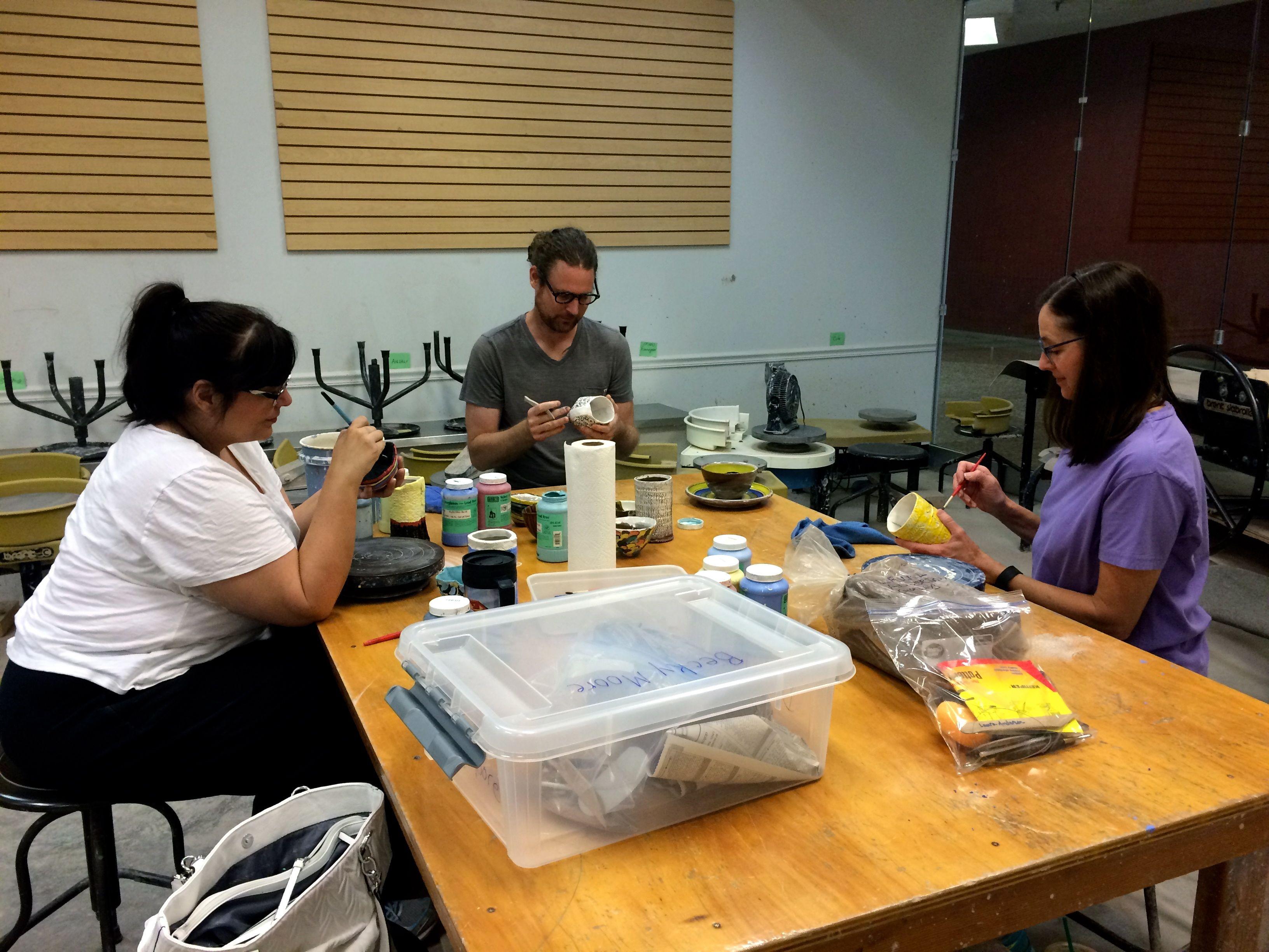 Craft guild of dallas clay studio class clay studio