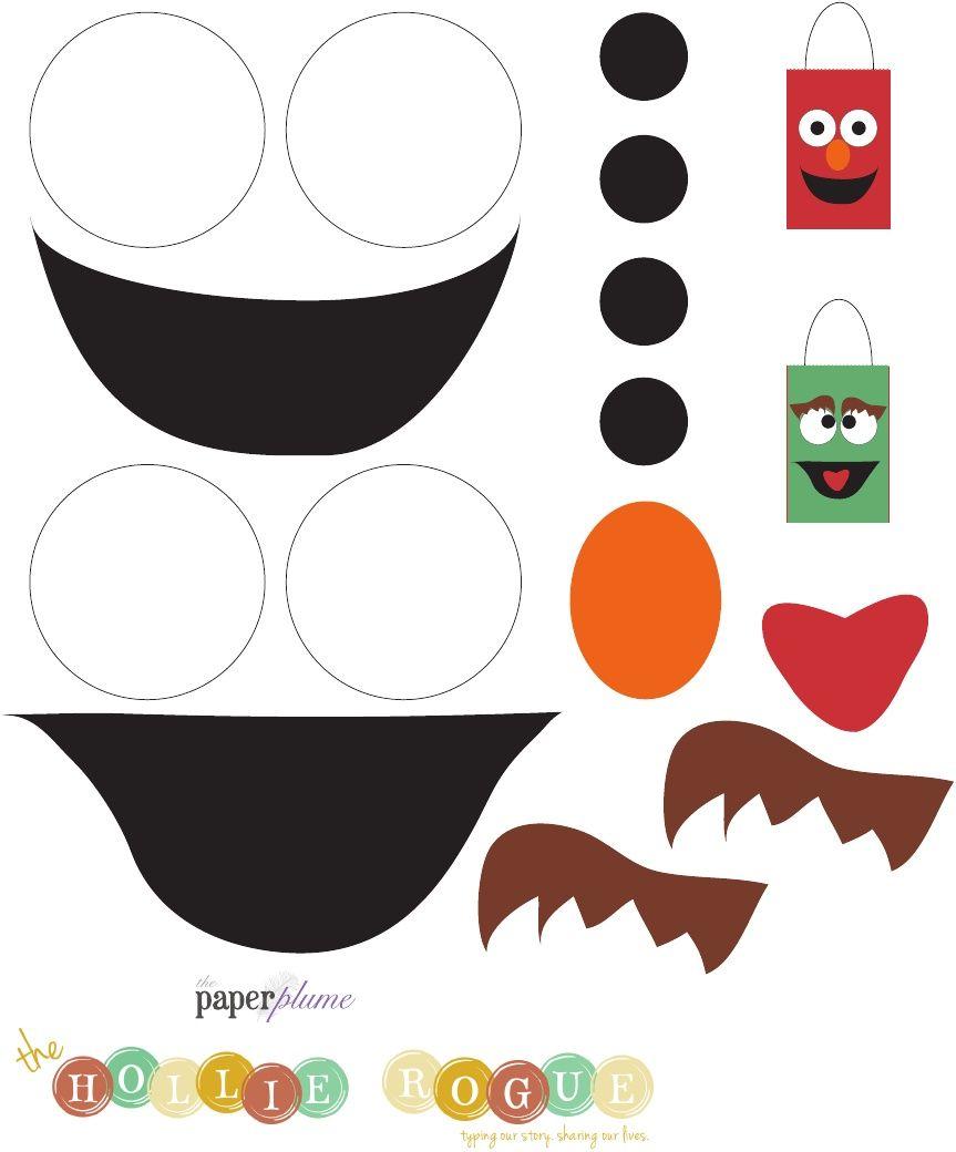 Cara de plaza sesamo | moldes | Pinterest | Sesamo, Plaza sesamo y Plaza