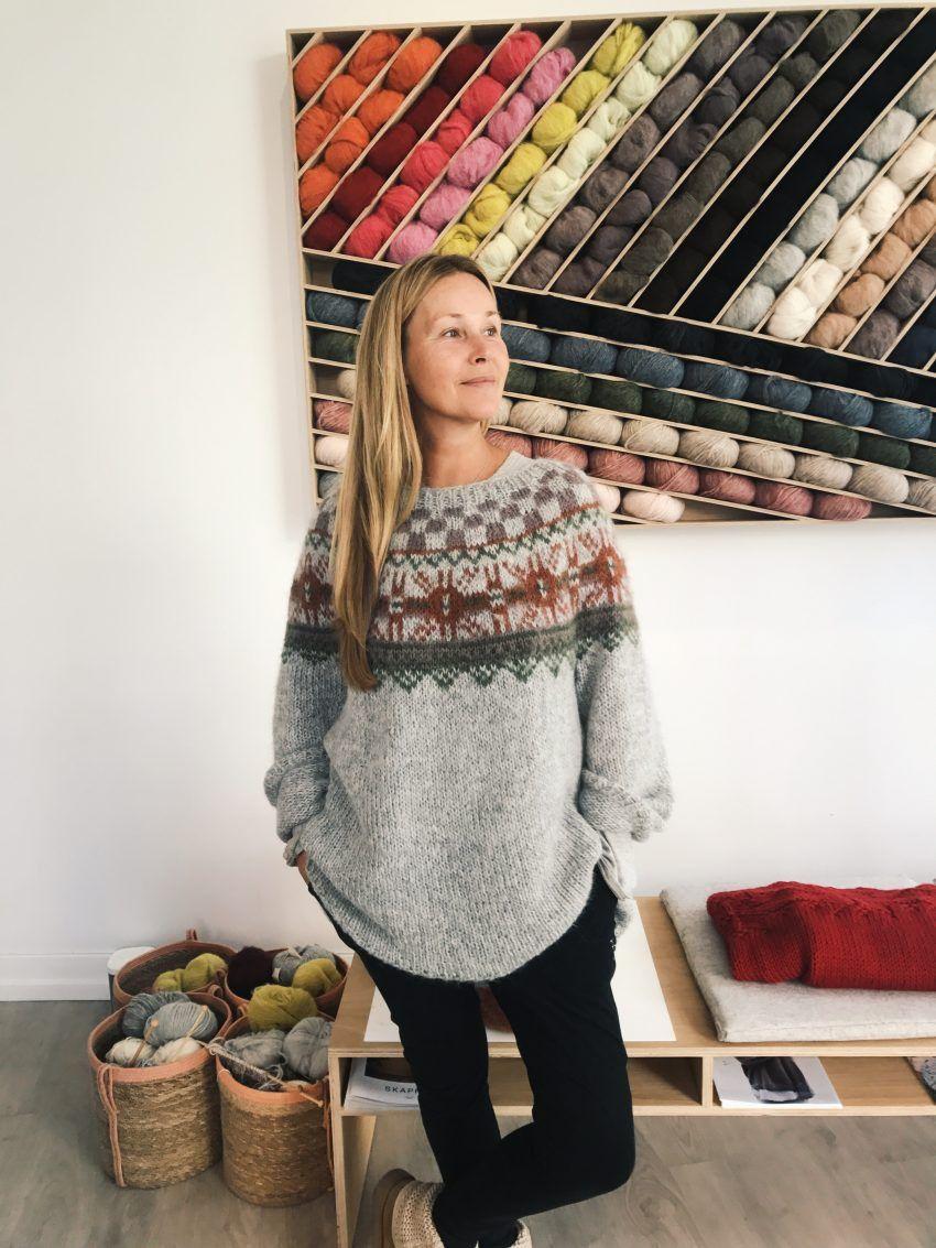 FREE PATTERN: Ut mot havet -genser - skappelgenseren skappelgenser