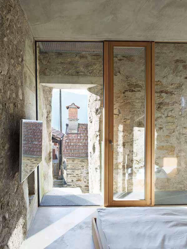 Bodentiefe fenster obergeschoss  Bodentiefe Fenster im Schlafzimmer | Umbau Haus | Pinterest ...