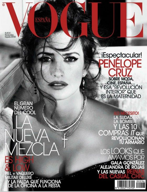 Penelope Cruz – Vogue Spain Magazine (November 2012)