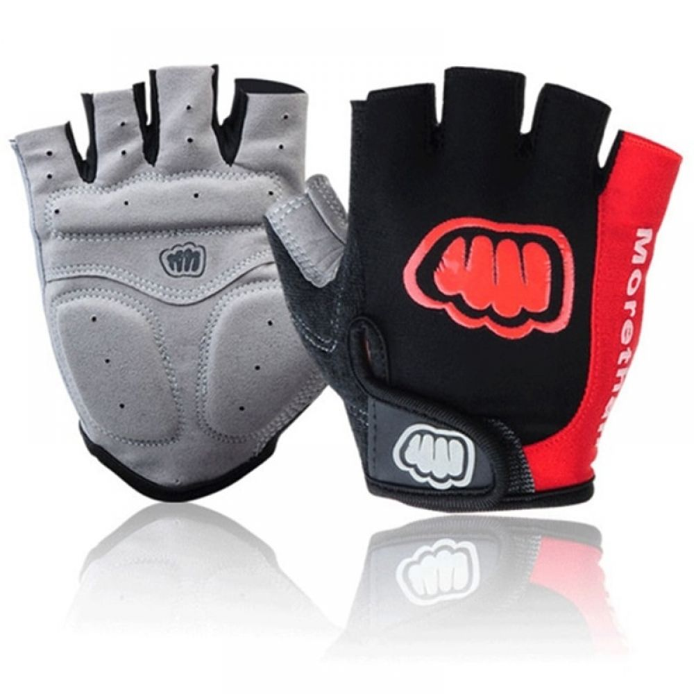 Bike Gloves Half Finger Cycling Gloves Breathable Motorcycle MTB Mountain Road