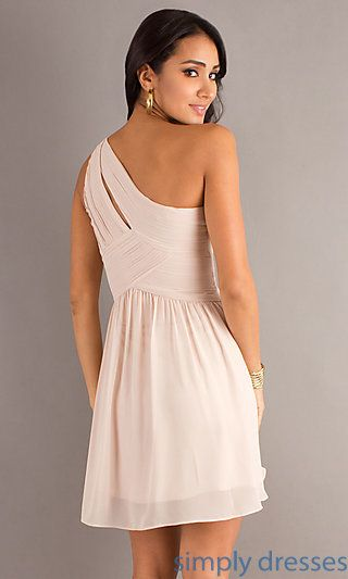 2087bbacdd Shop one-shoulder short prom dresses and short party dresses at Simply  Dresses. Dresses for junior-proms