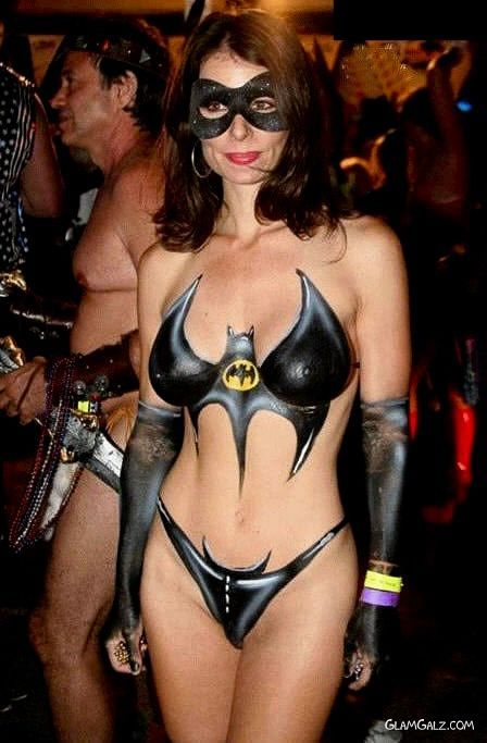Body Paint Halloween Costume