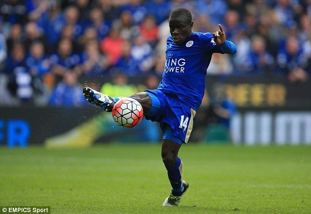 The Frenchman played a key part in the Foxes' Premier League title winning campaign last s...