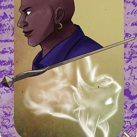 Kingsley Shacklebolt Playing Card By Imaginativeink Harry Potter Comics Harry Potter Cards Harry Potter Characters